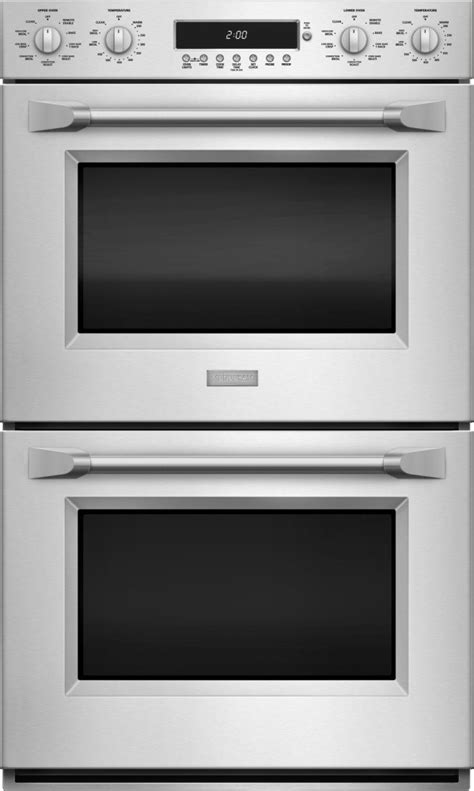 zetphss monogram  professional electronic convection double wall oven stainless steel