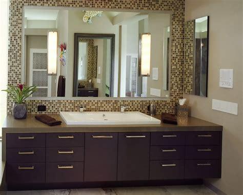 Tile Bathroom Mirror Frame by Bathroom Mirror Frames Ideas 3 Major Ways We Bet You Didn
