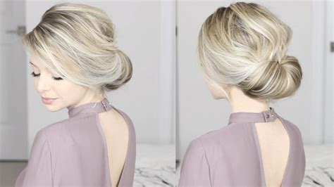 popular easy hair updos  medium length hair