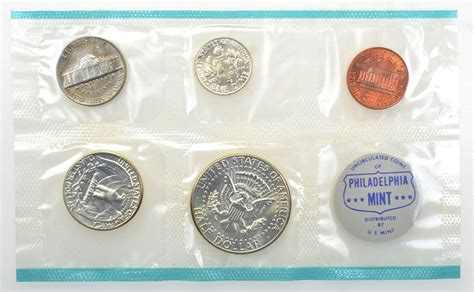 coin pd  mint uncirculated coin set