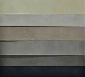beton cire gris marron pour sol mur plan de travail ou With beton cire mur exterieur