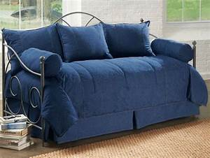 5pc Denim Daybed Cover Set Daybed Covers And Daybeds