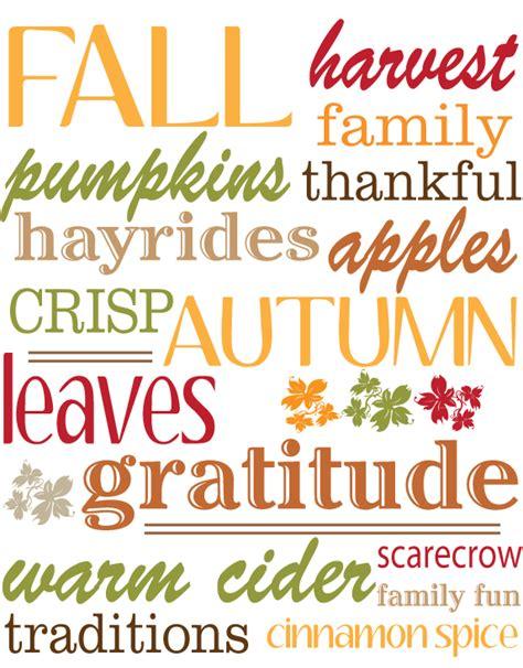 Free Fall Printable  Create For Joy