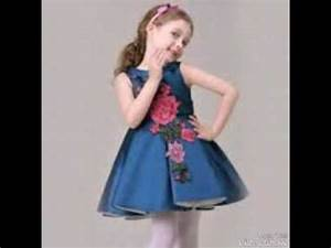 robe de soiree pour petite filles youtube With robe chipie fille