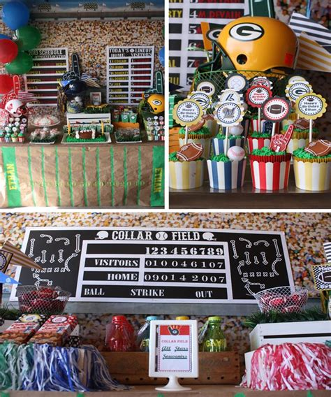 karas party ideas sports party planning ideas supplies