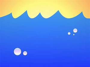 Ocean Water Waves Cartoon