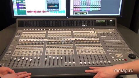mmagru musikmesse  avid pro tools    control surface video review youtube