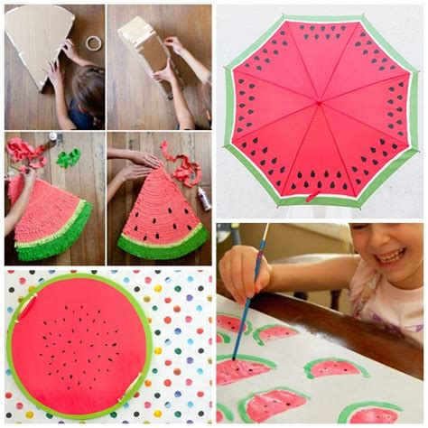 Watermelon Crafts & Diy Projects For Summer  Crafty Morning