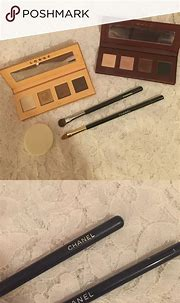 CHANEL brushes W/ FREE eyeshadow and zip case | Chanel ...