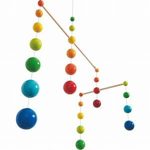 Mobile Baby Haba : haba rainbow balls wooden mobile oompa toys ~ Watch28wear.com Haus und Dekorationen