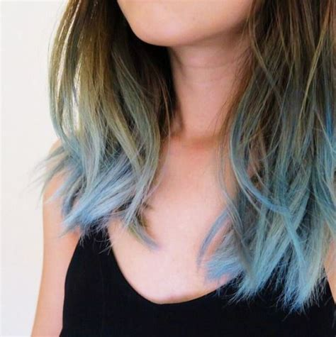Blue Tips Blue And Blue Dip Dye On Pinterest