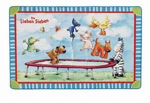Teppich Die Lieben Sieben : die lieben sieben teppich ls 201 140 x 200 cm mit rutschhemmendem r cken moderner teppich ~ Whattoseeinmadrid.com Haus und Dekorationen