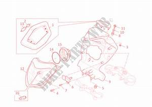 Front Headlight And Instrument Panel For Ducati