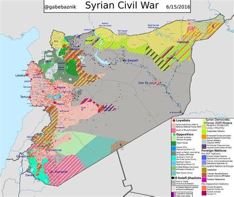 Syrien Aktuelle Lage Karte