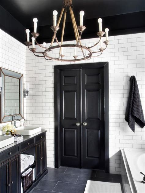 bold black interior doors inspiration  tips hgtvs