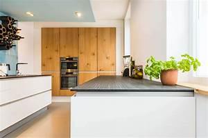 Skandinavisches Design Moderne Wohnkche Im Alten