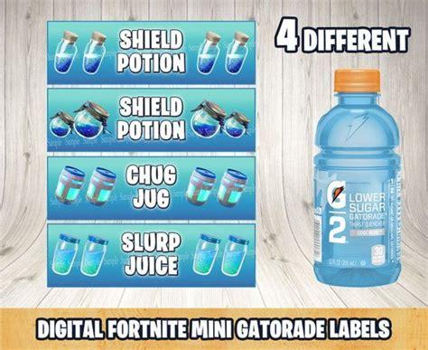 fortnite shield potionfortnite mini gatorade bottle