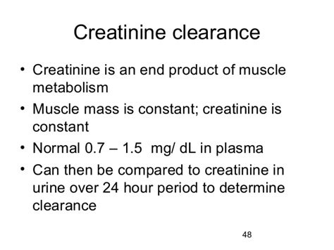 normal range of urine creatinine in mg dl renal structure and function