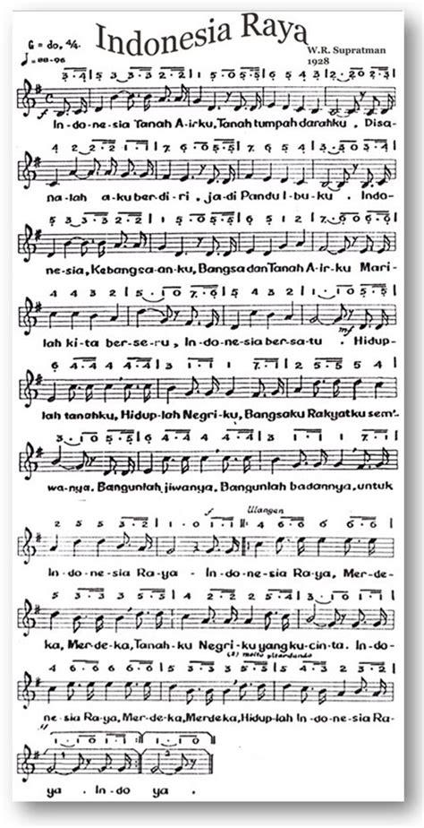 lagu hymne guru beserta not angka lirik lagu wajib indonesia raya dan not angka gado gratis