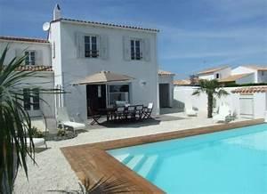 location villa avec piscine sur l39ile de re tenor With location maison ile de re avec piscine