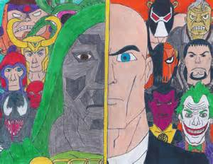Marvel Super Heroes and Villains Drawings