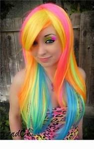 18 Wonderful Rainbow Hairstyles Pretty Designs