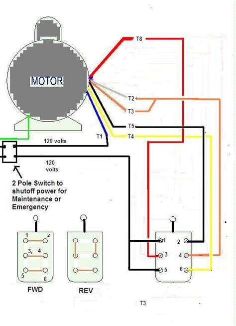 Schematic Of 3 4 Hp Motor Wiring by Need Wiring Diagram For Baldor Vl3514t To Dayton 2x441