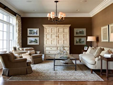 Small Living Room Paint Color Ideas by Color Psychology In Decorating Brown