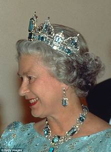 The Queen's spectacular tiaras are the heart of her jewellery collection Daily Mail Online