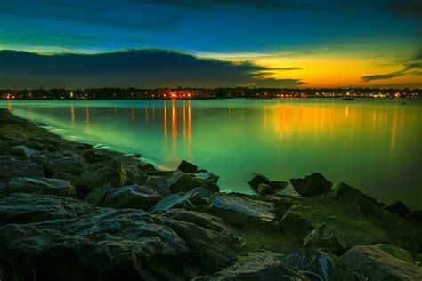 Green Sunset : pics