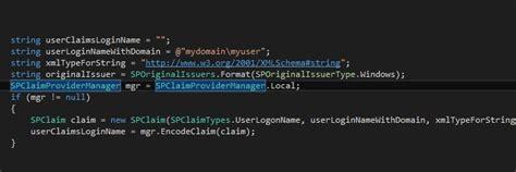 convert sharepoint login   claims format
