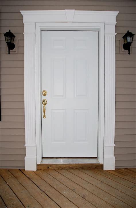 exterior door molding kit front doors creative ideas door entrance