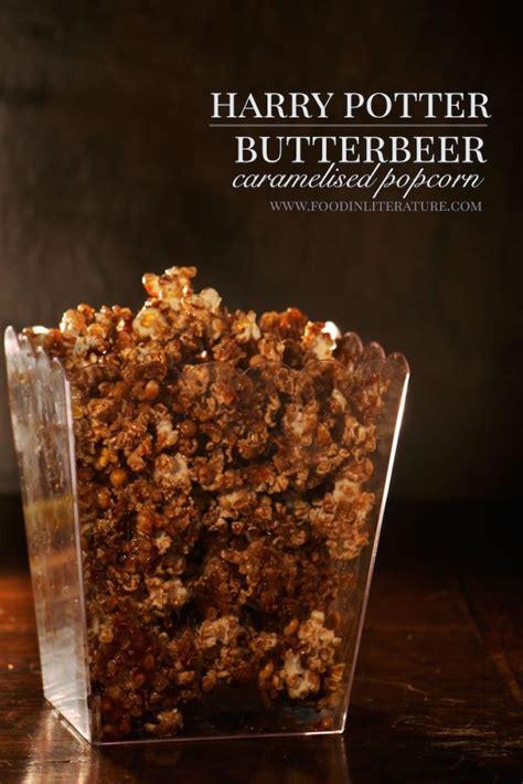 butterbeer caramelised popcorn harry potter  literature