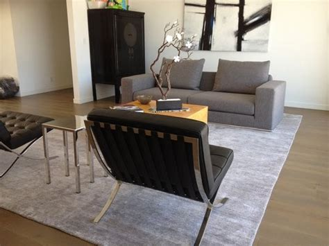 living room rugs modern silk bamboo rug in modern living room