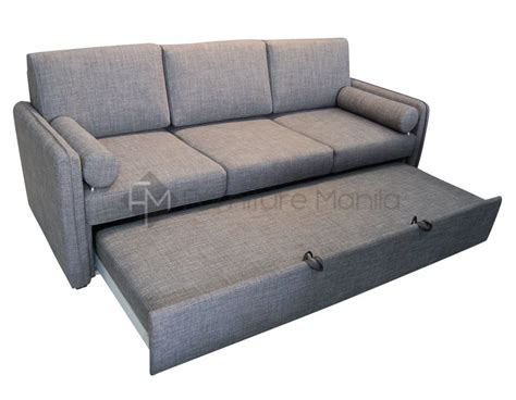 Sofa With Pull Out Bed In Manila Hospital Bed Table With Drawer Bathroom Dividers Bin Pulls Refrigerator Freezer 2 Wicker Storage Bow Front Chest Of Drawers Roll Out King Sleigh