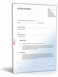 Kündigung Mietvertrag Bis Zum 3 Werktag : absichtserkl rung englisch muster vorlage zum download ~ Lizthompson.info Haus und Dekorationen