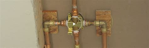 how to replace tub shower faucet replacing a shower faucet the home depot