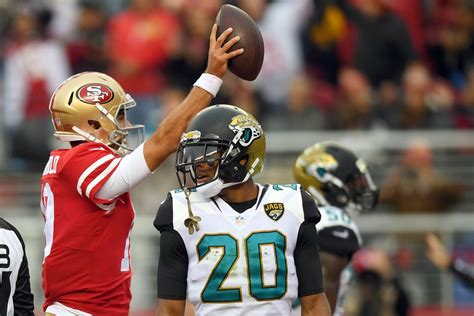 Jaguars Sb Nation by 49ers 44 33 Win The Jaguars Was A In Nfl