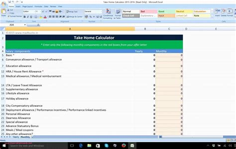 budget worksheet excel briefencounters
