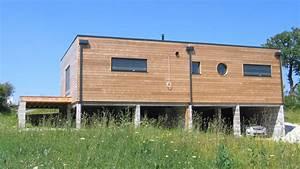 Maison Préfabriquée En Bois : prix maison ossature bois en kit boismaison ~ Premium-room.com Idées de Décoration