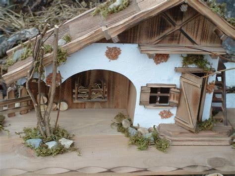 Modellhaus Selber Bauen Anleitung by Modellhaus Grosses Holzhaus Krippe 55cm Holzhaus Krippe