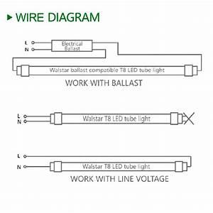 Wiring Diagram For Led Tube Lights