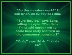Zeke & Uriah ar... Uriah Quotes