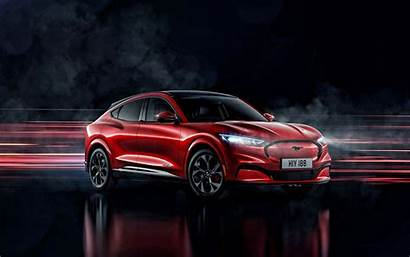Mustang Ford Mach 2021 Electric Suv Sports