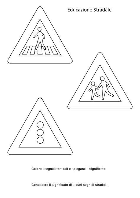 immagini bambini scuola infanzia segnali stradali per bambini scuola infanzia con le schede