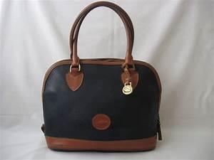 Vintage Dooney and Bourke Handbag Satchel All Leather Tote
