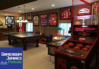 home game room This Sports Fanatic's Gameroom is a Home Run - Gameroom Junkies