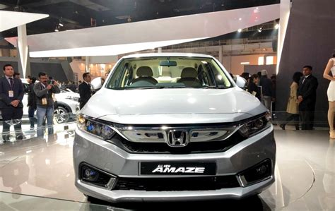 New Honda Amaze 2018 Officially Unveiled