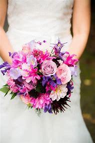 Bright Pink and Purple Wedding