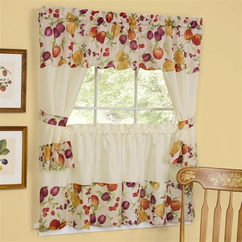 country style kitchen curtains and valances country style kitchen curtains kitchen clipgoo 9500